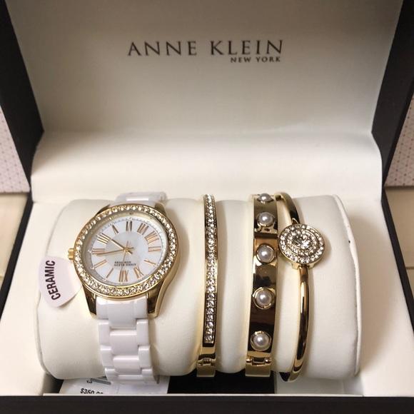6d4a1f8e8e3 Anne Klein Accessories | Watch Set | Poshmark